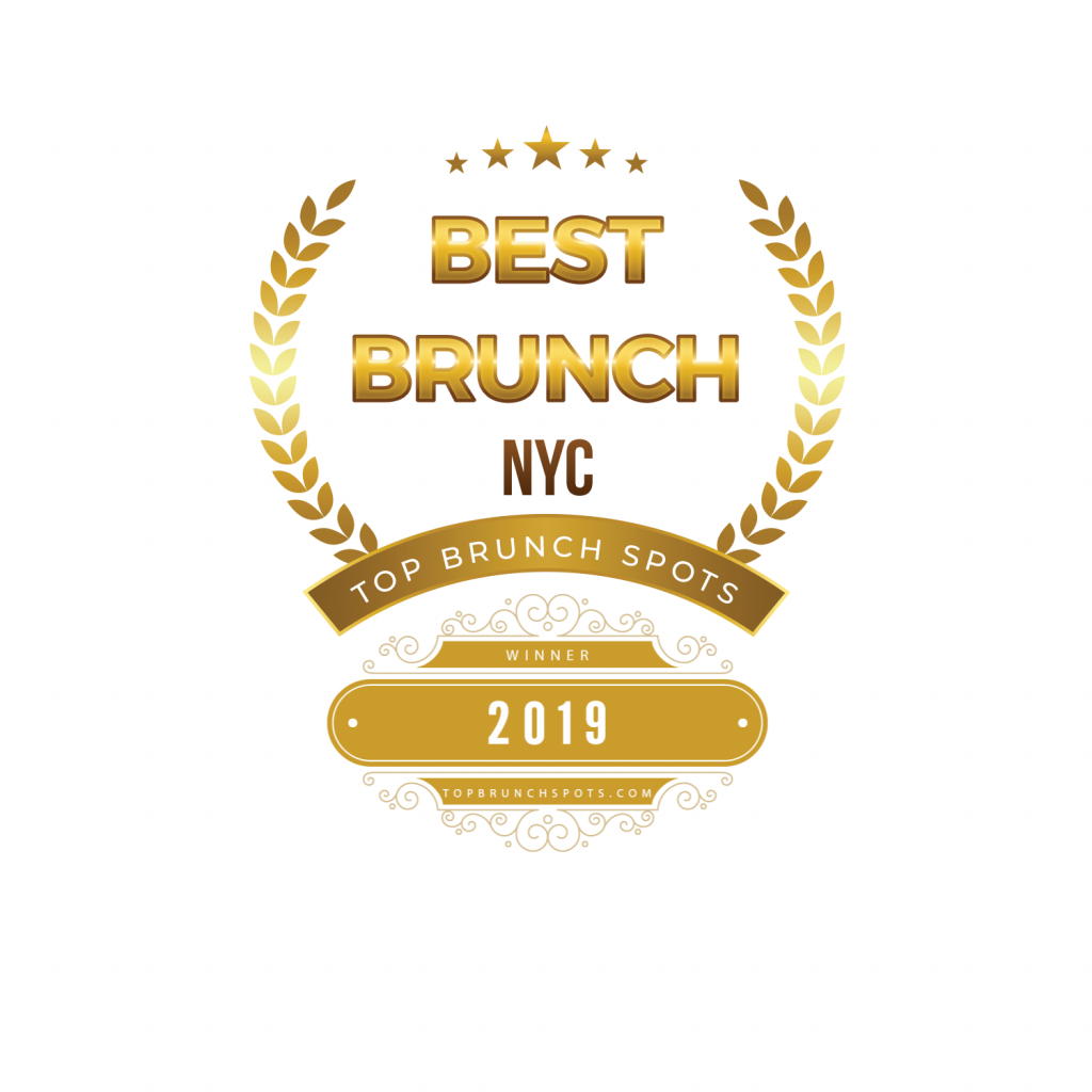 Top Brunch Spots Best Brunch NYC Badge